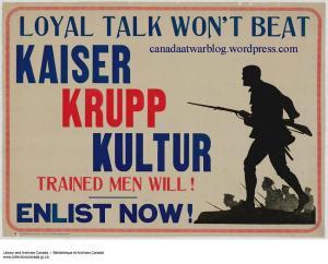 Loyal Talk Won't Beat Kaiser Krupp Kultur.