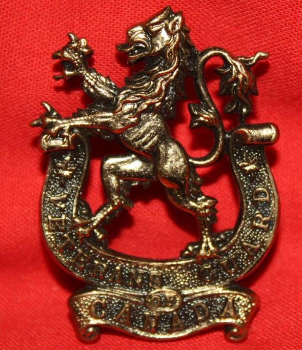 Veterans Guard of Canada, Second World War Capbadge.