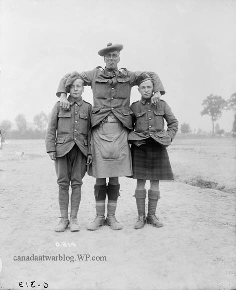 Canadian Expeditionary Force Royal Highlanders of Canada 13th Infantry Battalion The Long and Short of it, July, 1916.